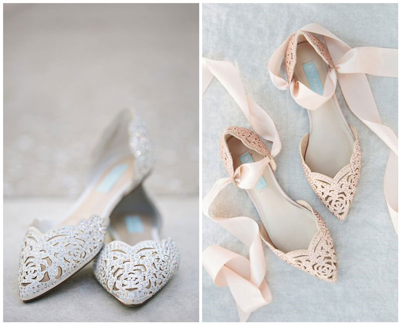 chaussures plates pour mariage