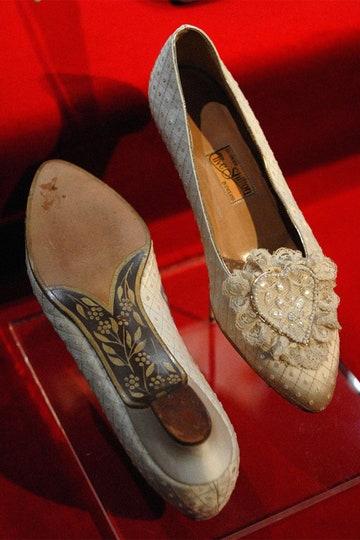 chaussures de mariée Diana