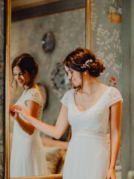 robe mariée modeste
